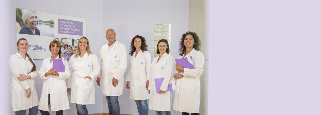 Il team di Acustica Toscana